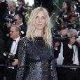 Sandrine Kimberlain- Montée des marches de la Soirée 70ème Anniversaire lors du 70ème Festival International du Film de Cannes. Le 23 mai 2017. © Borde-Jacovides-Moreau / Bestimage