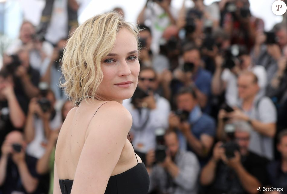 "Diane Kruger au photocall de ""Aus Dem Nichts (In The Fade)"" lors du 70e Festival International du Film de Cannes, le 26 mai 2017. © Borde-Jacovides-Moreau/Bestimage"