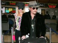 Johnny Hallyday : En grande forme pour quitter Los Angeles, direction Paris