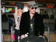 Johnny Hallyday : En grande forme pour quitter Los Angeles, direction Paris
