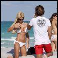 Shauna Sand et son nouveau boyfriend sur une plage de Miami