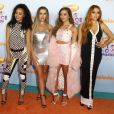 "Little Mix, Perrie Edwards, Jade Thirlwall, Leigh-Anne Pinnock, Jesy Nelson à la Soirée des ""Nickelodeon's 2017 Kids' Choice Awards"" à Los Angeles le 11 mars 2017."