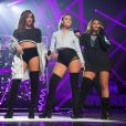 "Leigh Anne Pinnock, Jade Thirlwall, Perrie Edwards, Jesy Nelson (Little Mix) au ""BBC Radio 1's Teen Awards"" à Londres. Le 23 octobre 2016"