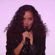 Lucie, talent de la team Florent Pagny, a interprété  New York, New York  de Franck Sinatra pour la finale de  The Voice 6 , sur TF1 le 10 juin 2017.