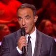 Nikos Aliagas lors de la finale de  The Voice 6 , le 10 juin 2017 sur TF1.