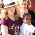 Madonna et le petit David