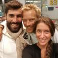 """Vincent, Sébastien et Claire, candidats de """"Koh-Lanta Cambodge"""" sur TF1."""