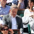 Caroline Barclay dans les tribunes des Internationaux de Tennis de Roland Garros à Paris le 7 juin 2017 © Cyril Moreau-Dominique Jacovides/Bestimage Celebs at Roland Garros french open in Paris, France on june 7th 2017.07/06/2017 - Paris