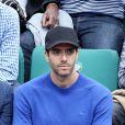 Tarek Boudali dans les tribunes des Internationaux de Tennis de Roland Garros à Paris le 7 juin 2017 © Cyril Moreau-Dominique Jacovides/Bestimage