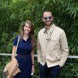 Ophélie Meunier et Arié Elmaleh au village des Internationaux de Tennis de Roland Garros à Paris le 7 juin 2017 © Cyril Moreau-Dominique Jacovides/Bestimage