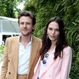 Anna Brewster et son compagnon au village des Internationaux de Tennis de Roland Garros à Paris le 7 juin 2017 © Cyril Moreau-Dominique Jacovides/Bestimage
