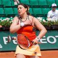 Marion Bartoli participe au tournoi des légendes à Roland-Garros le 7 juin 2017.
