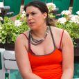 Marion Bartoli participe au tournoi des légendes à Roland-Garros avec Iva Majoli le 7 juin 2017.