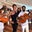 Laurence Jenkell - 5e gala annuel de l'Unité Locale d'Antibes-Juan les Pins-Vallauris de la Croix-Rouge Française à l'hôtel du Cap-Eden-Roc. Antibes, le 10 juin 2017.
