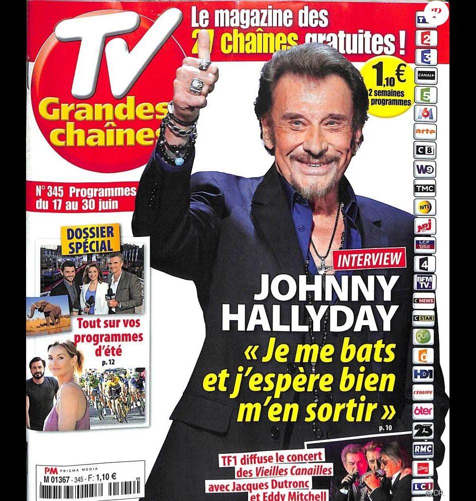 retrouvez l 39 int gralit de l 39 interview de johnny hallyday dans le magazine tv grandes cha nes. Black Bedroom Furniture Sets. Home Design Ideas