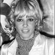 Anita Pallenberg àParis en 1967.