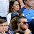 Erika Choperena (épouse d'Antoine Griezmann) lors du match de la finale de l'Euro 2016 Portugal-France au Stade de France à Saint-Denis, France, le 10 juillet 2016. © Cyril Moreau/Bestimage