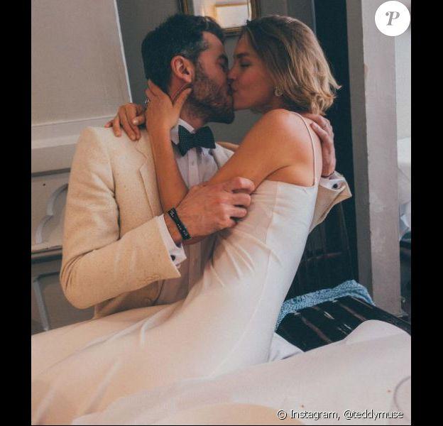 Mariage d'Arizona Muse et Boniface Verney-Carron à Londres. Le 17 juin 2017.