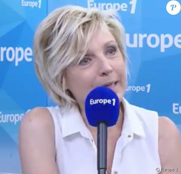 """Evelyne Dhéliat dans """"Le Grand direct des médias sur Europe 1"""", le 20 juin 2017."""