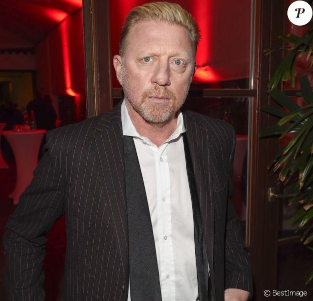 """Boris Becker - Soirée de Gala """"Ein Herz fur Kinder"""" à Berlin le 3 décembre 2016."""