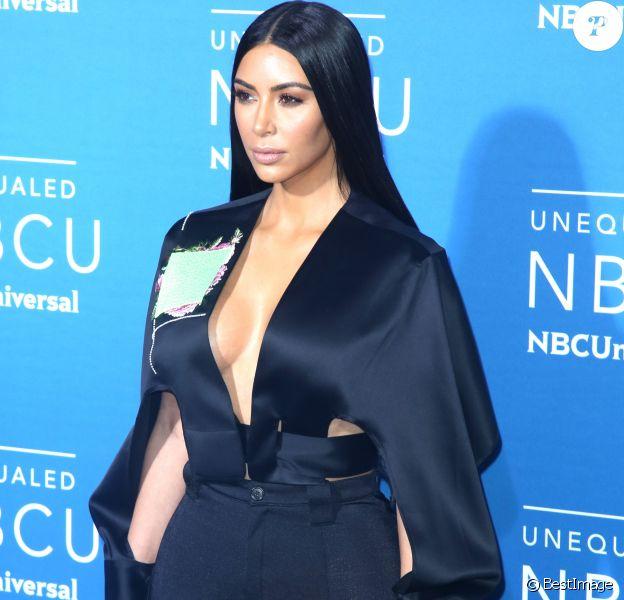 Kim Kardashian à la soirée NBCUniversal 2017 à New York, le 15 mai 2017.