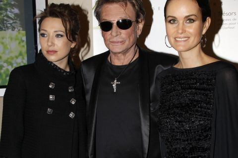Johnny Hallyday : Son coup de gueule pour défendre sa femme et sa fille !