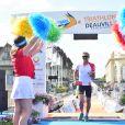 Exclusif - Paul Belmondo participe au Triathlon international de Deauville – Hoka One One, le 24 juin 2017. © Giancarlo Gorassini / Bestimage