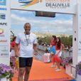 Exclusif - Richard Dacoury participe au Triathlon international de Deauville – Hoka One One, le 24 juin 2017. © Giancarlo Gorassini / Bestimage