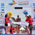 Triathlon international de Deauville – Hoka One One le samedi 24 juin 2017. © Giancarlo Gorassini / Bestimage