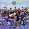 Triathlon international de Deauville – Hoka One One le 24 juin 2017. © Giancarlo Gorassini / Bestimage
