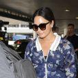 Demi Lovato arrive à l'aéroport LAX de Los Angeles, le 21 juin 2017.