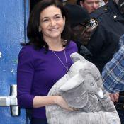 """Sheryl Sandberg : """"C'est très lourd d'être le seul parent de ses enfants"""""""