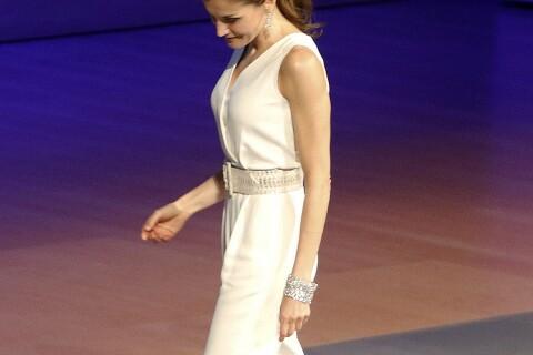 Letizia d'Espagne: Combi-pantalon, robe en dentelle... Sa folle semaine de looks