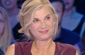 Michèle Laroque face aux questions sur François Baroin : Souriante mais ferme
