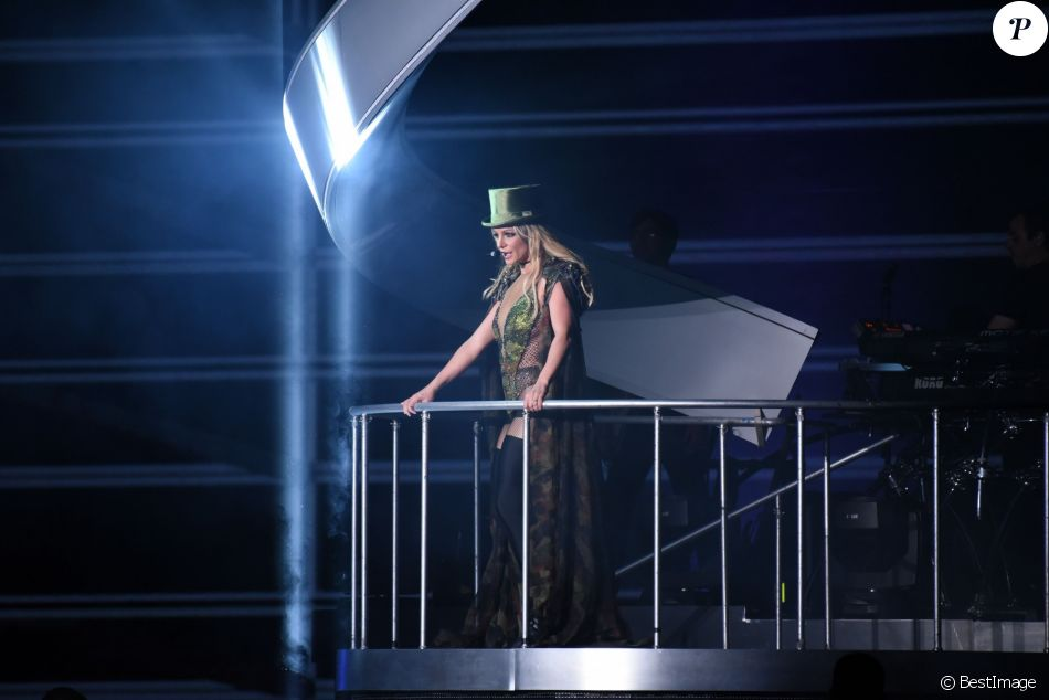 La chanteuse américaine Britney Spears en concert à Taipei, Taïwan, Chine, le 13 juin 2017. © TPG/Zuma Press/Bestimage