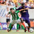 Sambou Yatabaré lors d'un match de son équipe du Werder Brême contre Séville à Dresde le 29 juillet 2016.