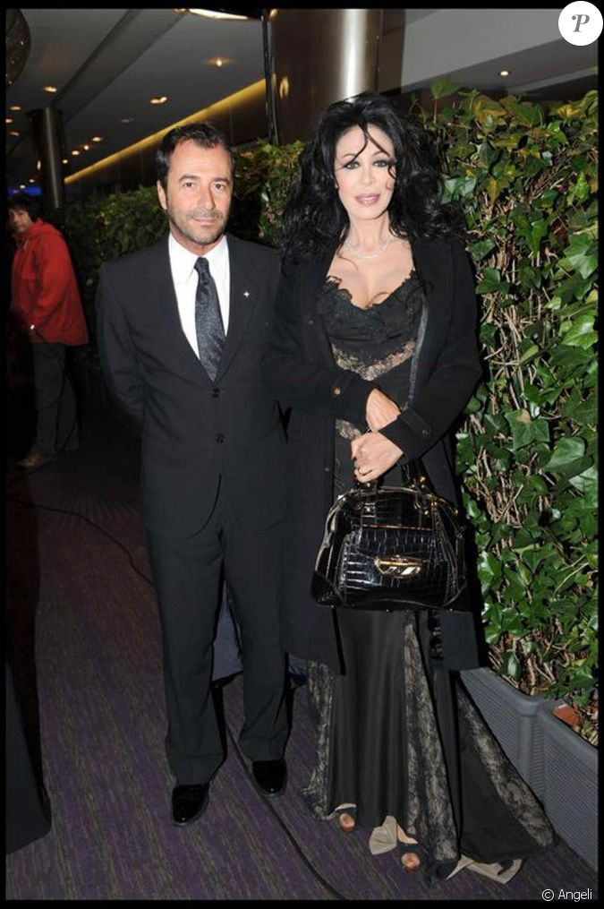 yamina benguigui et bernard montiel la soir e des globes de cristal 02 02 09. Black Bedroom Furniture Sets. Home Design Ideas