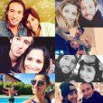 Fabien Gilot et Audrey Selles, photomontage Instagram en mars 2017.