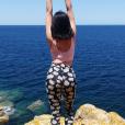 Agathe Auproux, sexy à Calvi en Corse. Juillet 2017.