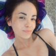 Agathe Auproux en Corse, le 6 juillet 2017.