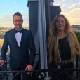 Loana et Phil Storm, amoureux, le 13 mai 2017 à Paris.