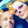 Loana et son amoureux Phil Storm, le 13 mai 2017 à Paris.