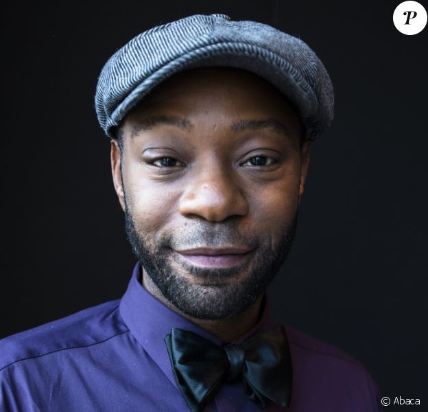 "Nelsan Ellis en promo pour le film ""Get On Up"" à New York. Juillet 2014."