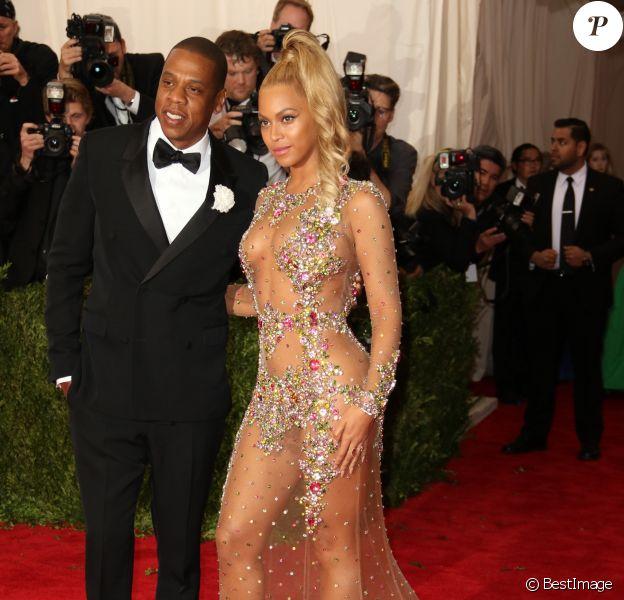 Beyoncé Knowles et Jay-Z - Soirée Costume Institute Gala 2015 (Met Ball) au Metropolitan Museum, célébrant l'ouverture de Chine: à travers le miroir à New York. Le 4 mai 2015.