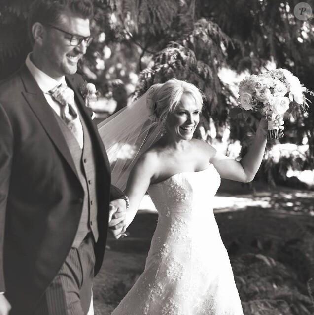 Photo du mariage de Josie Bissett, partagée sur Facebook. Juillet 2017.