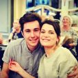 Enzo Soetens, fils de Pascal Soetens, est en couple. Ils sont ensemble depuis bientôt 5 mois. Juillet 2017.