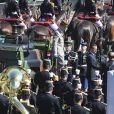 Le président de la République Emmanuel Macron, le général Pierre de Villiers, Edouard Philippe et Florence Parly lors du défilé du 14 juillet (fête nationale), place de la Concorde, à Paris, le 14 juillet 2017, avec comme invité d'honneur le président des Etats-Unis. © Pierre Pérusseau/Bestimage