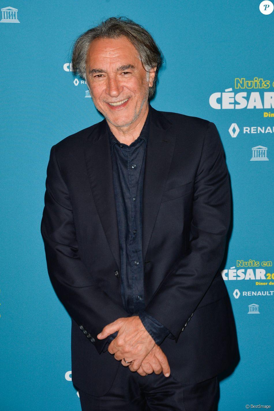 """Richard Berry - Dîner de gala """"Les Nuits en Or 2017"""" à l'Unesco organisé par l'Académie des César à Paris le 12 juin 2017. © Coadic Guirec/Bestimage"""