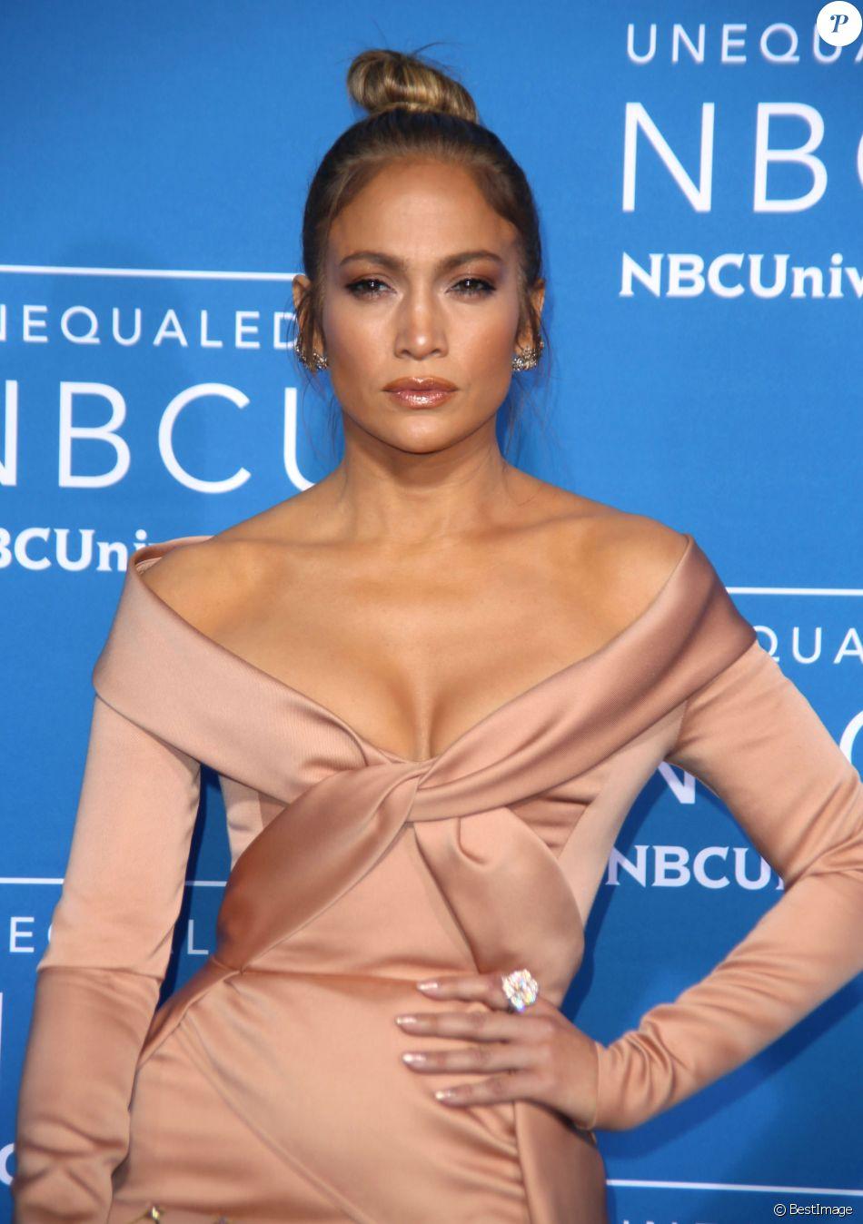 Jennifer Lopez lors de la soirée NBCUniversal 2017à New York le 15 mai 2017.