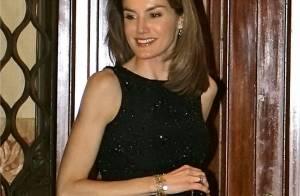 Letizia d'Espagne, radieuse en total look black... éblouit l'assemblée !
